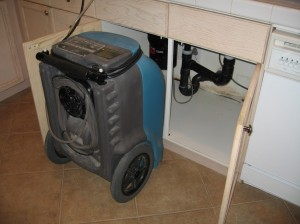 water damage vacuum